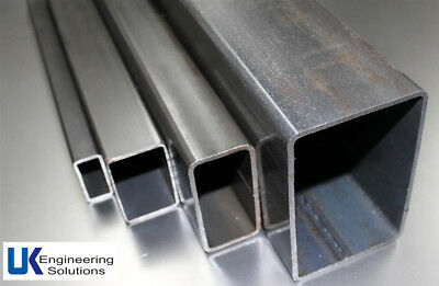 Mild Steel Box Section | 25mm to 100mm | 500 to 3000mm lengths