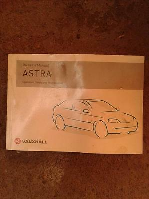 Mk 4 Vauxhall Astra Owners Manual