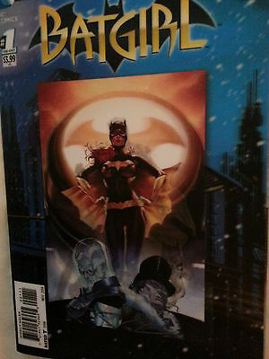 Dc Comics- New 52.  Futures End : Batgirl.  One Shot. 3D Motion Hologram Cover