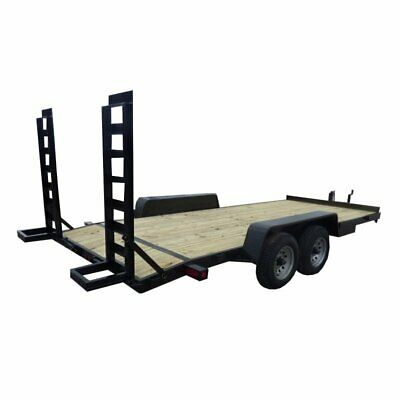 Equipment Trailer 18 ft. Dove Tail Dual Axle Hauler