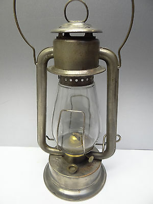 Vintage Used Pritchard-Strong Co Prisco Pony CB USA Tubular Barn Lantern Lamp