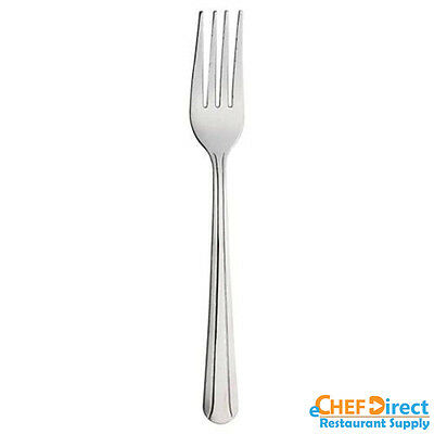 48 PCs Commercial Quality Stainless Steel Dinner Fork Flatware Domilion