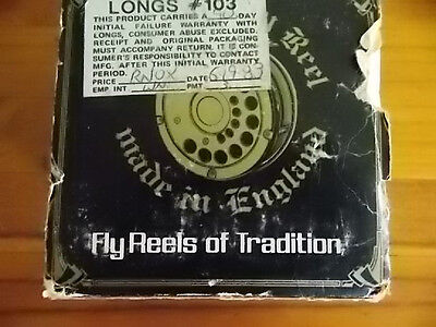 Vintage Daiwa 809 Fly Reel Made In England New Never Had Line On 1983 Model