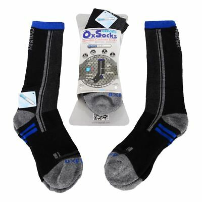 Oxford Coolmax Motorcycle Oxsocks Twin Pack Windproof Thermal Socks Cycle New
