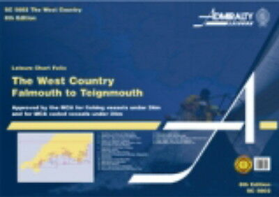 ADMIRALTY SC FOLIO SC5602 THE WEST COUNTRY - Falmouth to Teignmouth - NEW 2015