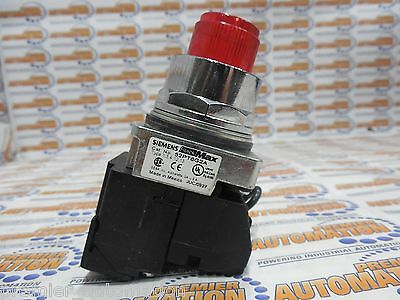 52Pt6G2A - Pilot Light/illuminated Pushbutton, Red, Incandescent, 120V, 1No-1Nc