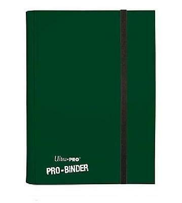 Ultra Pro PRO-Binder Dark Green OVP Mappe Ordner 9-Pocket Album f. 360 Karten