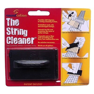 SOUNDSATION SC-GTR The ultimate string cleaning tool