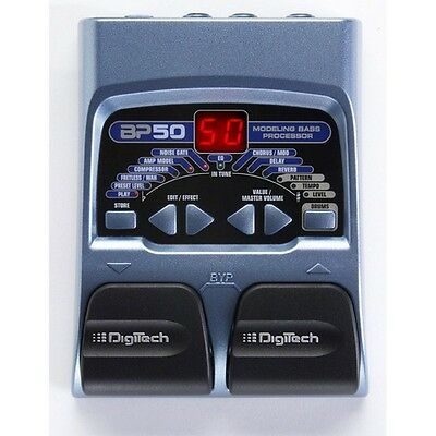 DIGITECH BP50PS Bass multi-effects (power supply included)