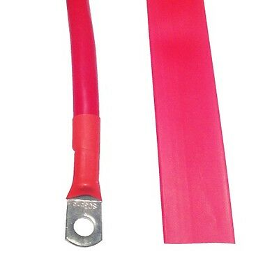 0.5m x Red 14mm Heat Shrink Electric Winch Battery Cable  4x4 4WD Recovery Tow