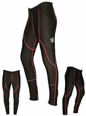 Womens Fitness Compression Leggings Yoga Pants Gym Ladies Trousers MS Sports