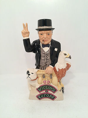 Kevin Francis Winston Spencer Churchill 50th Anniversary Limited Editio Toby Jug