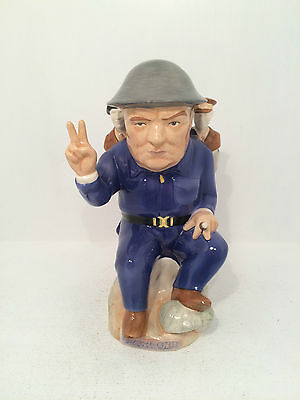 Kevin Francis Winston Spencer Churchill D-day Landings Limited Edition Toby Jug