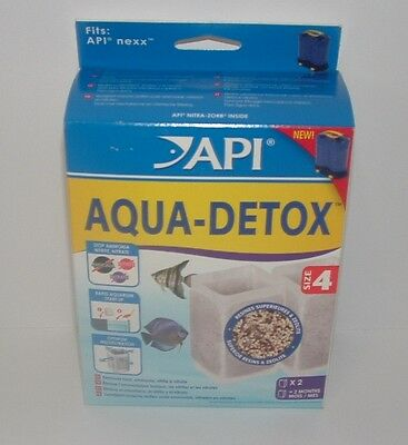 API RENA Nexx AQUA-DETOX SIZE 4 PACK OF 2 - for Nexx Filters
