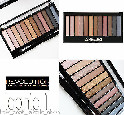 Makeup Revolution London  Naked Dupe Iconic 1 Eyeshadow Palette