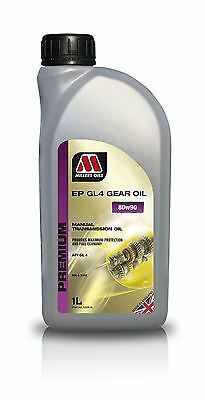 Millers Oils EP 80w90 GL4 Manual Transmission Gear Oil - 1 Litre