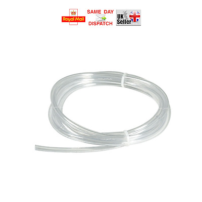 5m 6m 8m 10m -> 17 SIZES PVC TRANSPARENT TUBE FLEXIBLE HOSE PIPE AIR AQUARIUMS