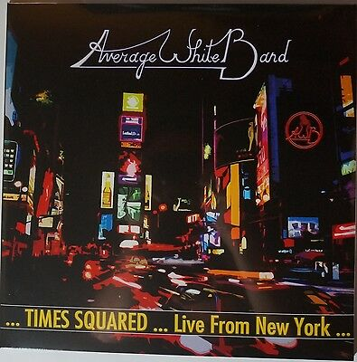 Average White Band - Times Squared... Live from New York 2LP NEU/OVP/SEALED