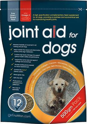 GWF Nutrition Hip & Joint Aid 500gm granules for Dogs helps Maintain Mobility