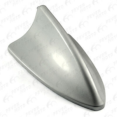 1Pcs For Car Shark Fin Roof Top Decor Dummy Antenna Aerial Grey Fits Camry FM
