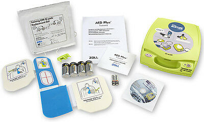 ZOLL AED PLUS Trainer2 with Remote, CPR-D Training Pads, Replacement Gels +  More