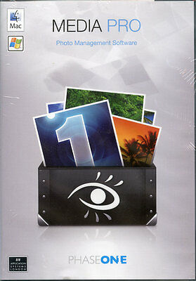 Media Pro Mac OS 10.5.8 or later photo management by Phase One New & sealed