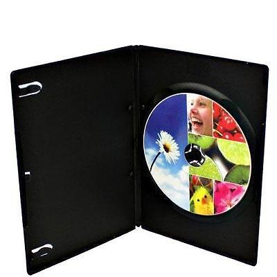 20-pack Brand New Black Single Slim 7mm DVD CD Media Disc Storage Case Holde Box