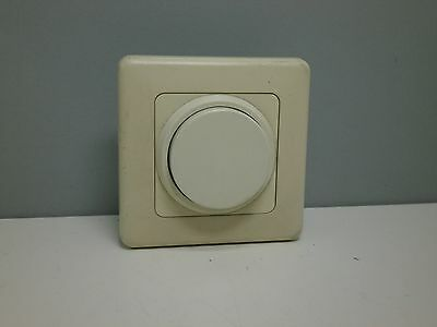 European Style Rotary Dimming Dimmer Wall Switch - Ivory