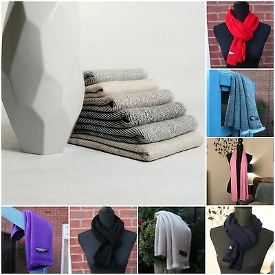 Super Soft Pure Nepalese Cashmere Scarf Scarves UNISEX -IDEAL CHRISTMAS PRESENTS