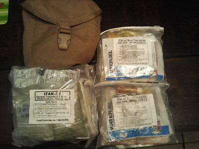 USMC H & H Issue First Aid Kit IFAK Complete