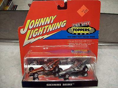 Johnny Lightning Diecast Cars First Shot The Lost Toppers Skinni Mini 2 Car Set