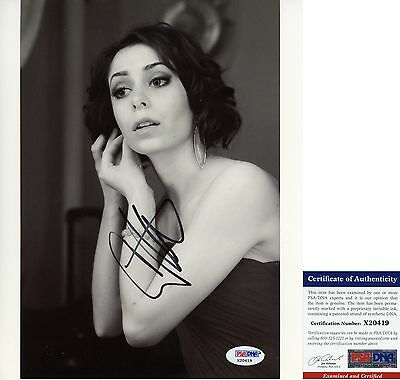 Cristin Milioti Signed 8x10 How I Met Your Mother Once: A New Musical PSA/DNA