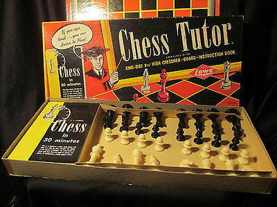 Chess Tutor by E.S. Lowe Made in 1955