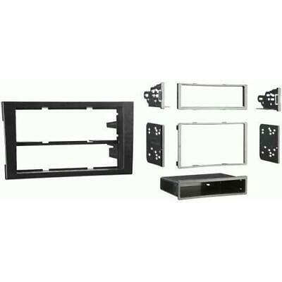 Metra 99-9107B Single/Double DIN Stereo Install Dash Kit for 2002-2004 Audi A4