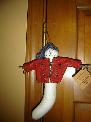 Bethany Lowe Snowman **New with Tags!!** MINT Condition!
