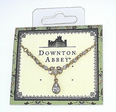 New Downton Abbey✿Jewel Necklace PBS Hit Series Costume Jewelry British Cosplay