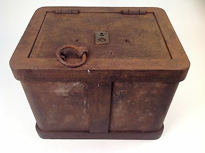 Authentic Stagecoach Strongbox
