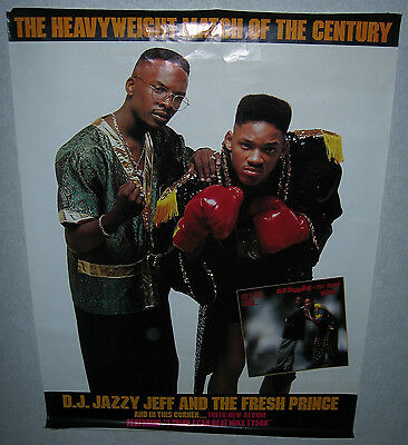 """DJ JAZZY JEFF / FRESH PRINCE And In This Corner (""""In-Store Only"""" Promo Poster)"""