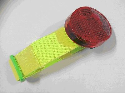 Arm Band With Red Flashing Light - Sports, Walking, Cycling, Children Safety
