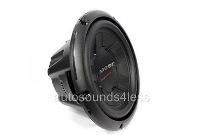 "Pioneer Champion Series TS-W261D4 1200 Watts 10"" Dual 4 Ohm Car Subwoofer New"