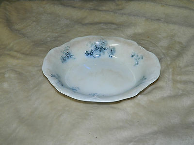 Alfred Meakin Ripon Vegetable Bowl Royal Semi Porcelain Blue Transfer England