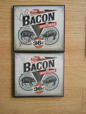 The BACON BROTHERS ~ 36c Autographed CD with COA ~ Kevin & Michael Bacon ~ 2014