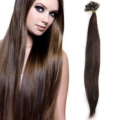 100 meche Cheveux naturel 100% remy hair extension 45cm pose a chaud