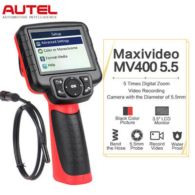 Autel MV400 5.5mm Maxivideo Engine Inspection Camera Color Car DiagnosticTool