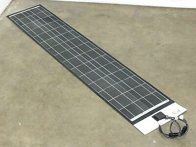"SoloPower 5' (62.5"") Flexible Thin Solopanel CIGS Solar Panel BIPV Solarlok"