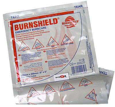 Burnshield Burn Gel Dressing 20cm x 20cm First Aid