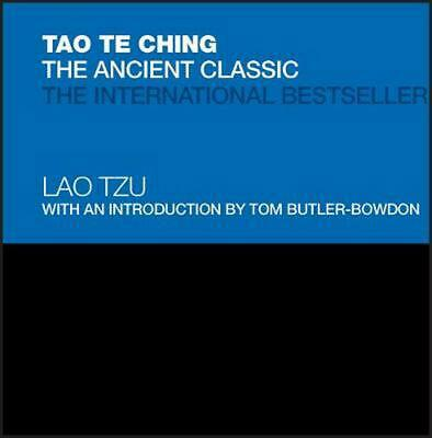 Tao Te Ching: The Ancient Classic by Lao Tzu (English) Hardcover Book Free Shipp