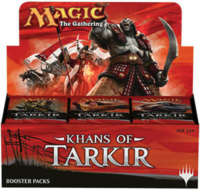 KHANS OF TARKIR Booster Box MAGIC MTG Factory Sealed In Stock FAST PRIORITY SHIP