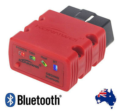2015 KW902 ELM327 Bluetooth OBD2 Auto Car Diagnostic Reader Scanner Tool Android