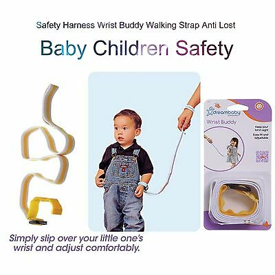 1 x Baby Child Toddler Safety Harness Wrist Buddy Walking Strap Anti Lost Safe